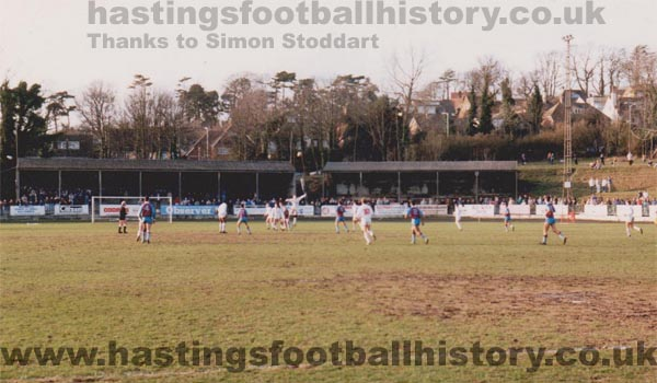 Hastings Town v Weymouth, 1992.