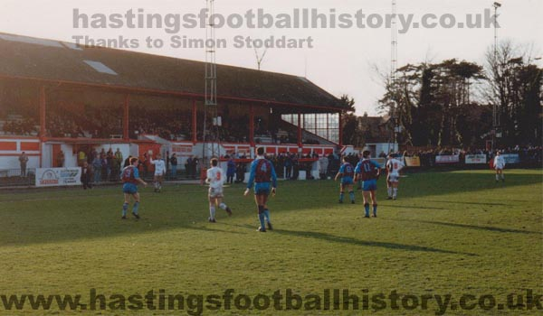 Hastings Town vs Weymouth, 1992.